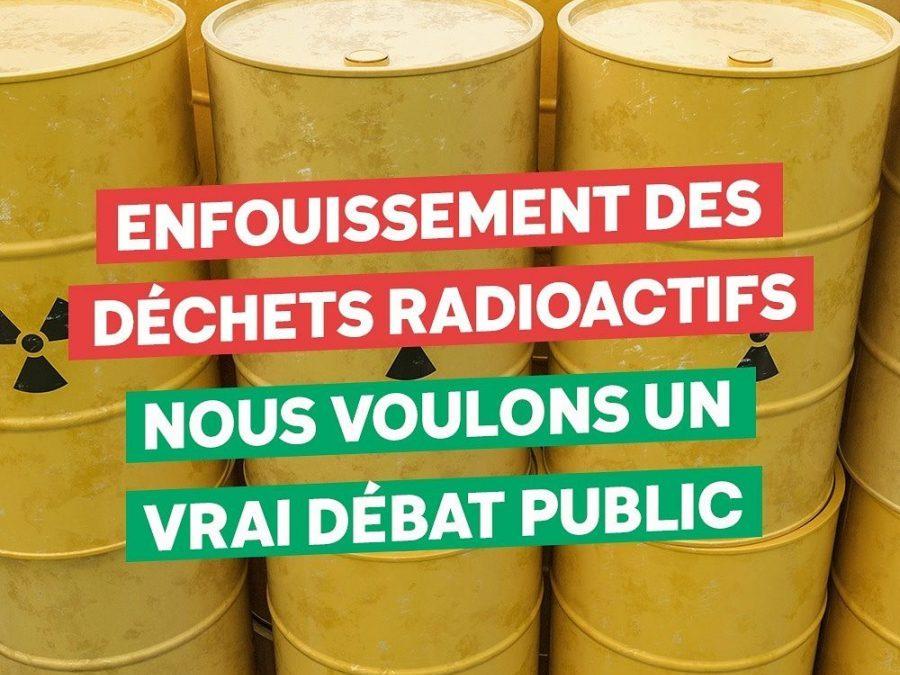 28 mai 2020 | Motion contre l'enfouissement des déchets hautement radioactifs